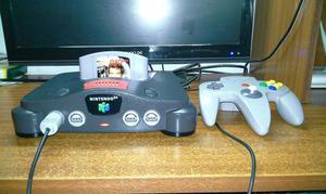 Nintendo 64 Juego Goldeneye con Expancion Pak