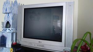 TV LG DE 21 PANTALLA PLANA CON SU CONTROL REMOTO BARATO