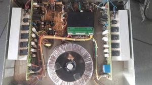 amplificador jp audio de 16 transistores