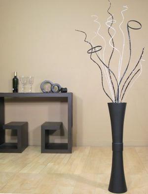 Greenfloralcrafts Jarrón De Trompeta De Bambú + Envio