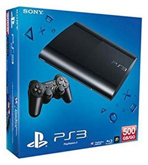 Playstation Ps3 Ultra Slim con 27 Juegos