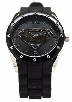 Reloj Man Of Steel De Superman Para Hombre Envio Gratis