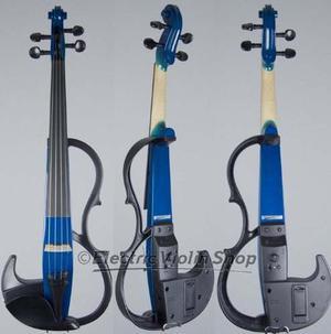 Yamaha Sv200 Silenciosa Violín Eléctrico (ocean Blue)