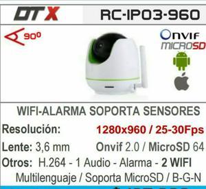 Camara de seguridad con sensores para vision posot class - Camaras de seguridad wifi ...