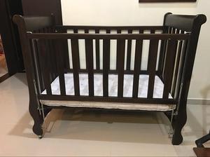 Cuna de bebe de madera posot class - Cunas de madera para bebes ...
