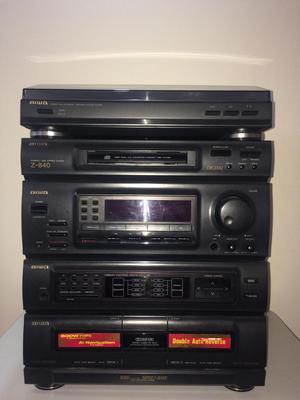 Equipo de Sonido Aiwa Z 840 incluido Tornamesa