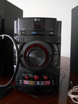 Mini Componente LG CM con440w de Potencia Real RMS Doble
