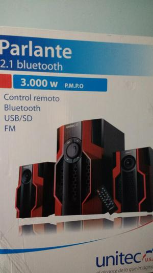 Parlante 2.1 Bluetooth