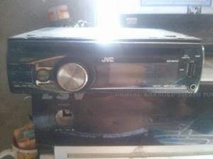 radio reproductor de memoria usb y cd mp3 marca jvc escriban