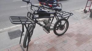 Bicicleta de Carga con Motor Como Nueva