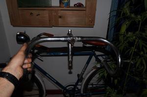 Manubrio y poste clásico bicicleta tipo ruta o fixie
