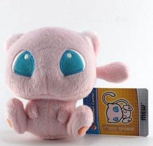 Peluche Pokemon Mew Doll 15cm 6 Centro Rosado Envio Gratis