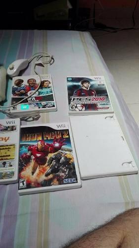 Se Vende Nintendo Wii Con Juegos