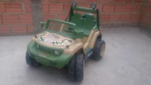 Carro Eléctrico Jeep Para Niños.