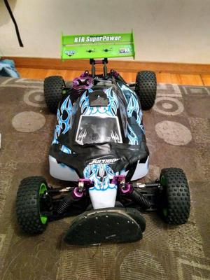 Hsp  Coche De Rc Offroad Buggy Backwach Nitro...