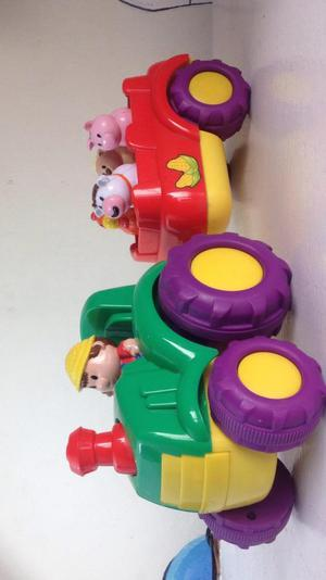 Tractor a Baterías Animales Granja