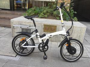 Bicicleta Eléctrica Plegable 350w