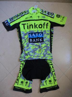 Uniforme ciclismo talla M