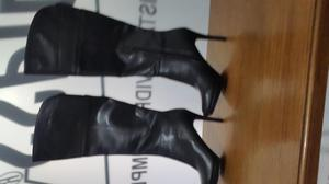 Botas Caña Alta Tacon 5 Negras AMERICANAS nuevas