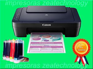 Impresora Multifuncional Canon E402 Tinta Continua