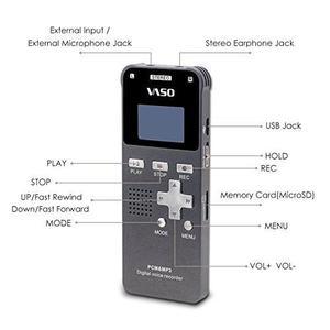 Vaso Vm690 Portable Ultra Thin Pcm Hq Digital !