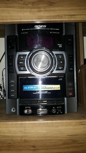 Equipo de sonido Sony Genezi MHCGTX888