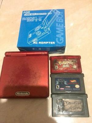 Game Boy Advance Sp Con Pokemon Ruby