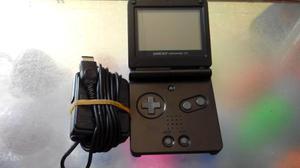 Gameboy Advance Sp Original Negro,modelo Ags 001