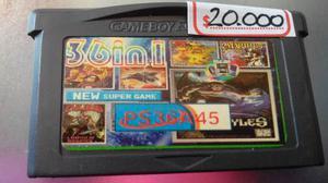 Juego De Game Boy Advance Generico,36 En 1.