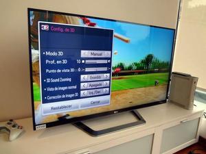 combo tv lg 42 pulgadas 3d xbox placa jasper juegos control