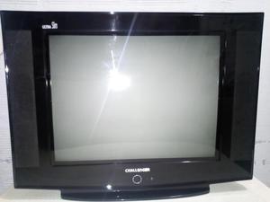 televisor challenger 21 pulgadas con control, ultra slim