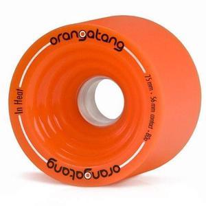75mm Orangatang En Calor Naranja Ruedas
