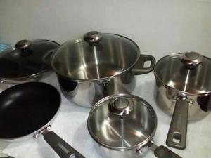 Bater a de cocina swisshome en acero inoxidable posot class for Cocina acero inoxidable
