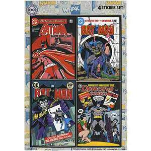 Batman Mini Sticker Pack !