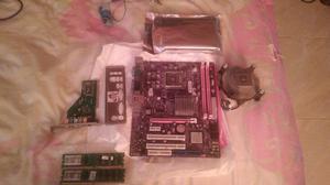 Combo Board Soked 775 Memorias Ram 4 Gb