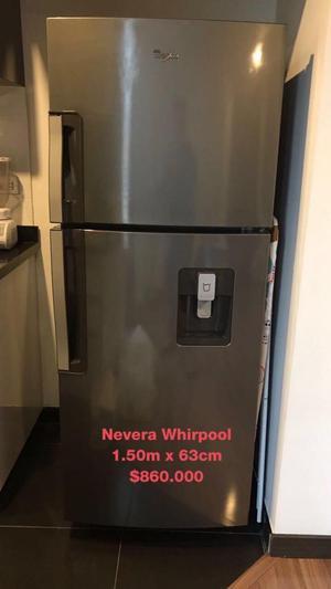 Nevera marca Whirlpool
