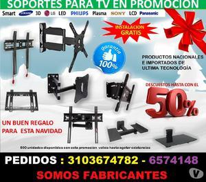 SOPORTES PARA TV AMERICANA EN BUCARAMANGA CON BUEN PRECIO