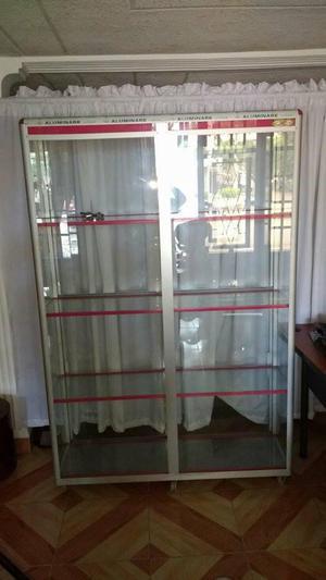 oferta,vitrinas en aluminio
