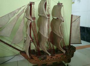 Barco de Madera!