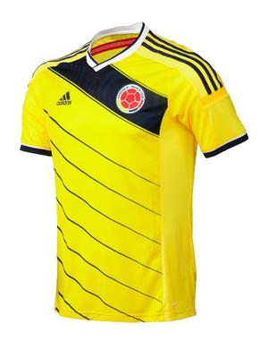 Camiseta Selección Colombia Original Amarilla Adidas
