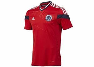 Camiseta Selección Colombia Original Roja Adidas Mundial