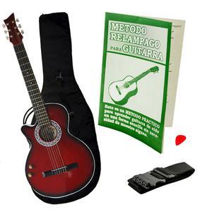 Combo Guitarra Estuche Bucaramanga Nuevas Con Clases