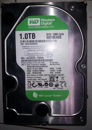 Disco duro wester digital sata 1 tb