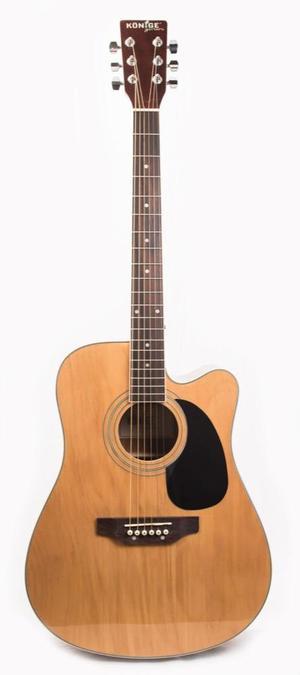 Guitarra Acústica Folck Caja Grande Cuerdas Metalicas