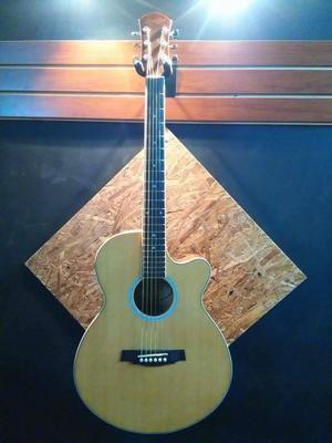 Guitarra Electroacústica Maxine Mfh90cn En Muy Buen Estado