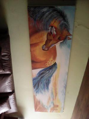hermoso caballo para la casa