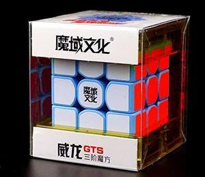 Cubispeed Moyu Weilong Gts Azul 3x3 Cubo Mágico Moyu Gts...