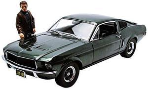 Figura Bullitt  Ford Mustang Gt Greenlight Envio Gratis