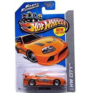 Hot Wheels Hw Ciudad - Toyota Supra - Rápido