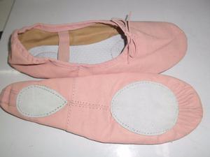 Zapatillas Ballet Lona Exelente Calida Super Comodas